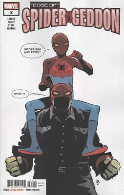 Edge of Spider-Geddon #3A 2018 Zonjic Variant NM Stock Image
