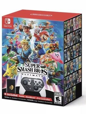 Super Smash Bros. Ultimate Special Edition (Nintendo Switch) NEW Game FAST SHIP!