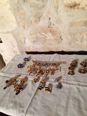 Mixed Items & Lots Fashion Jewelry Lot Bijoux Fantaisies