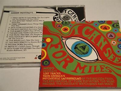 Mojo Presents I Can See For Miles - Lost 60s Psychedelic Tracks CD