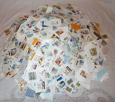 Bulk Lot Of Australian Used Decimal Stamps Assorted Values 1.7Kg