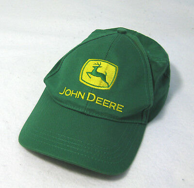 JOHN DEERE Mens Green Baseball Hat Cap (Adult One Size Snapback) 100% Cotton 1eeaa096bb5f