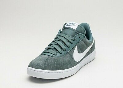 5425499a8f02 Mens Nike Bruin Athletic Shoes SZ 12-Hasta Green White Suede Leather-845056-