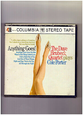 Anything Goes! Dave Brubeck plays Cole Porter CQ 899 71/2IPS reel to reel tape