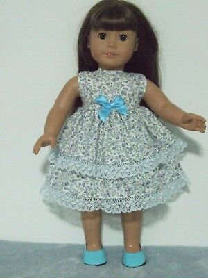"Dolls Clothes for 18"" Our Generation/American Girl / DRESS~KNICKERS blue floral"