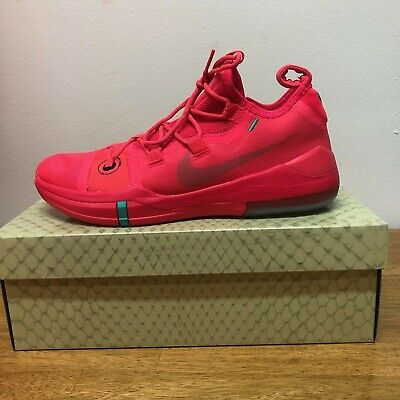 new concept 2ef0a 4362b NEW NIKE KOBE ad red orbit clear emerald green ar5515-600 rare color limited