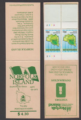 Norfolk Is. - 1991 Complete Booklet. SG #SB1. Mint