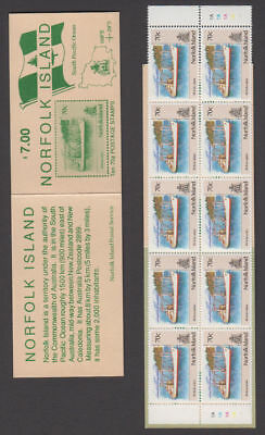 Norfolk Is. - 1991 Complete Booklet. SG #SB3. Mint