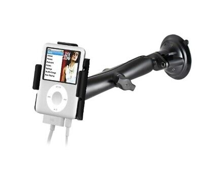 Suction Cup Long Arm Windshield Mount Holder fits Apple iPod Nano 3rd Generation