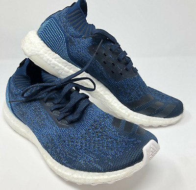 687eed4dd43bb Adidas Ultra Boost Uncaged Parley Legend Blue Core BY3057 11.5