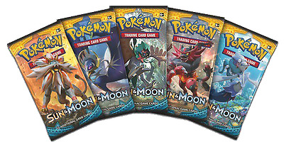 Pokemon Cards Sun & Moon Trading Card Game Booster Pack TCG NEW (Aus)