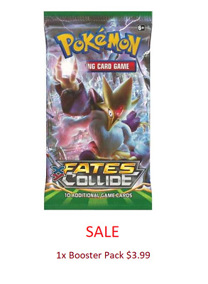 Pokemon Fates Collide Booster Pack SALE/SPECIAL TCG Trading Card Game