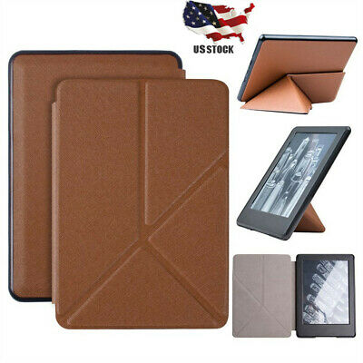Slim Leather Case Smart Cover Sleep Wake For Amazon Kindle Paperwhite 4 2018 R_