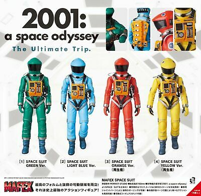 ea9ddd40 New 2001 A Space Odyssey Medicom Toy MAFEX Space Suit Set of 4 Figures All  Color