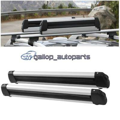 Aluminium Alloy Fishing Rods Carrier Holder Roof Rack Mounted Lockable 78cm