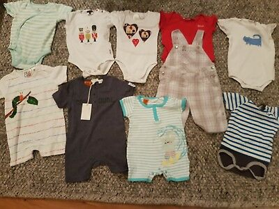 Baby boy clothing bundle size 6-12 months - Seed, Paul Smith, Gap, Pumpkin Patch