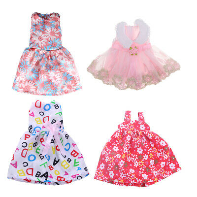 """For American Girl Fashion 14"""" Doll Sleeveless Skirt Dress Changing Clothes"""