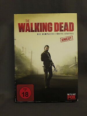The WALKING DEAD - Die komplette fünfte / 5. Staffel [DVD | UNCUT] Kombiversand