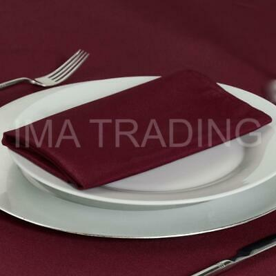 Burgundy Tablecloth Table Cloth Various Sizes Round Square Rectangular