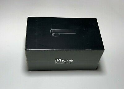 b92863a9467 Original Collectible Apple Bluetooth Headset MA817LL/A *VERY RARE* SEALED  BOX