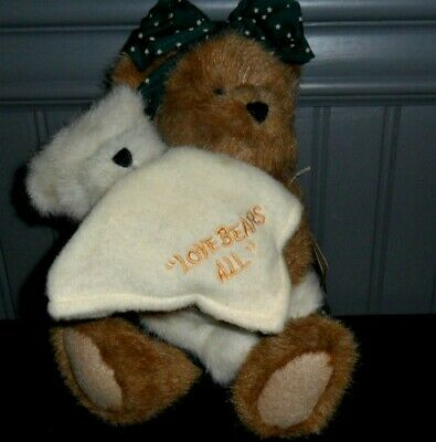 "Boyds Plush #919816 Momma Bearsley with rocker 14/"" NEW//Tag From Retail Store"