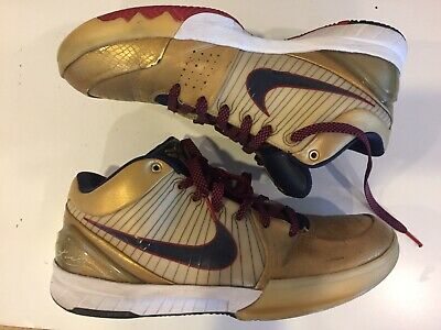 cheap for discount b02de b8f01 Like us on Facebook · Nike Zoom Kobe IV 4 - Gold Medal   Olympic Size 9.5