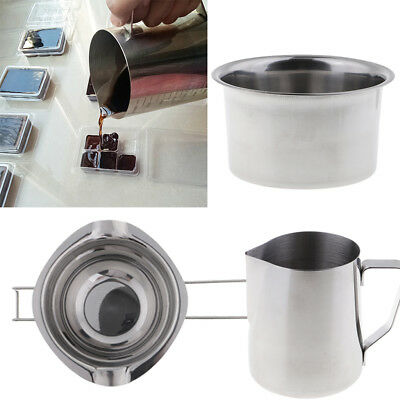 3x Candle Wax Melting Pot Candle Making Pitcher Double Boiler for DIY Candle