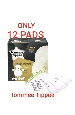 Tommee Tippee Closer Nature Maternity Disposable Breast Feeding Nursing 12 Pads
