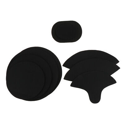 4pcs Snare Drum Sound off Mute Foam Pads for Drumming Practice Pad Accessory