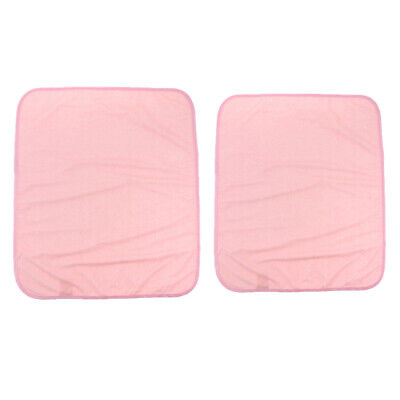 Reusable Bed Pad Underpads Elderly Incontinence Aid Washable Waterproof Pink