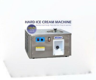 ice cream gelato machine sorbet 10L/HR   10amp power