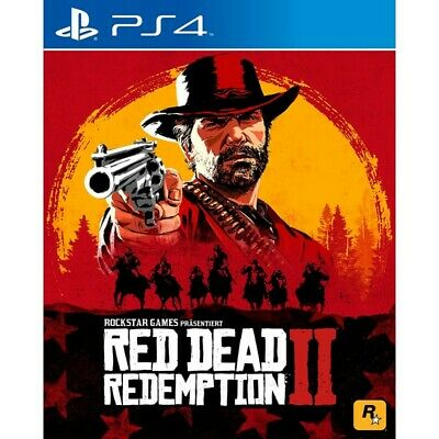 RED DEAD REDEMPTION 2 nuovo Playstation 4 PS4 italiano