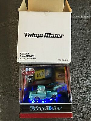 DISNEY CARS TOON Tokyo Mater with Lights exclusive Comic Con collectible  SDCC