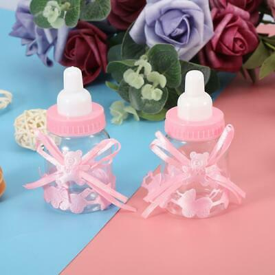 24Pcs Fillable Bottles Sweet Candy Box Gift for Baby Shower Party Decorations