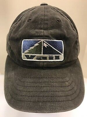 f19d4da09cc Crazy Shirts Vail Baseball Cap StrapBack Hat Colorado Ski Resort Black Men  OSFA