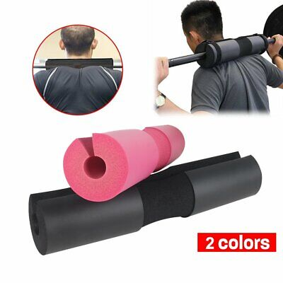 Olympic Weights Gym Barbell Pad Squat Bar Shoulder Support Weightlifting Fitness
