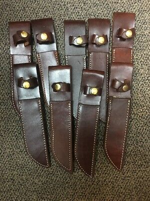 Triple K Leather Knife Sheath  138 - New Factory Blemish - Made In U.s.a.