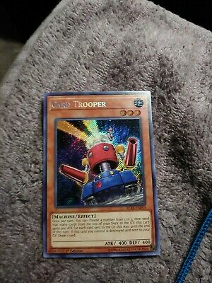 Yugioh! Card Trooper - BLRR-EN053 - Secret Rare - 1st Edition Mint English