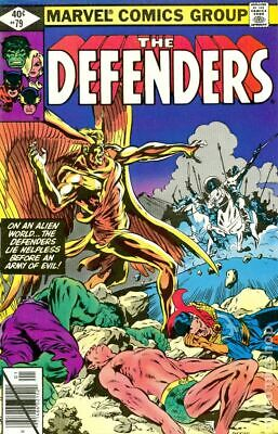 Defenders (1st Series) #79 1980 VG+ 4.5 Stock Image Low Grade