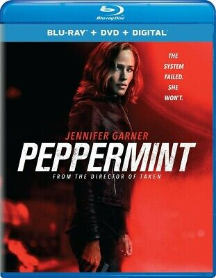 BLU-RAY Peppermint (Blu-Ray/DVD) NEW Jennifer Garner, John Ortiz