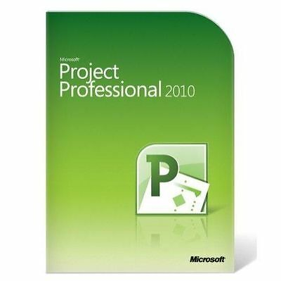 Microsoft Project 2010 Professional Version MS Pro BRAND NEW BOX Full Retail