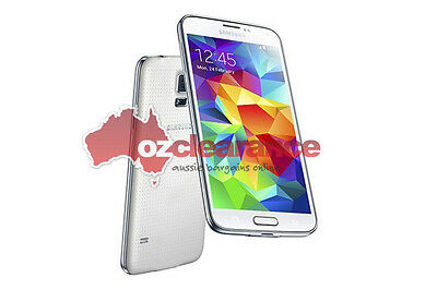 USED Samsung Galaxy S5 G900I - 16GB - Shimmery White - Faulty