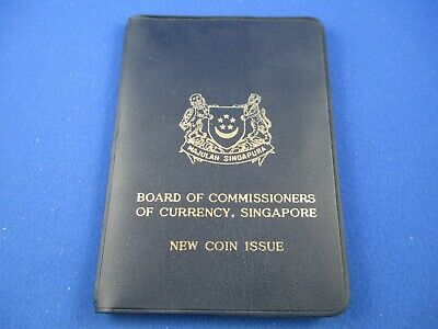 1968 Board Of Commissioners Of Currency Singapore New Coin Issue Set.