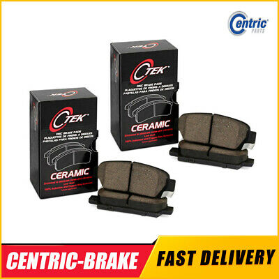 Centric Front Rear Ceramic Brake Pads 2SET For Ford Edge