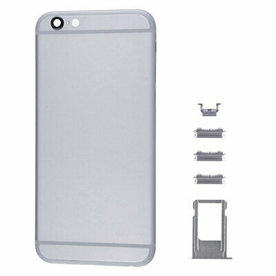 """Battery Rear Metal Cover Housing Back Door Frame Replacement For iPhone 6 4.7"""""""