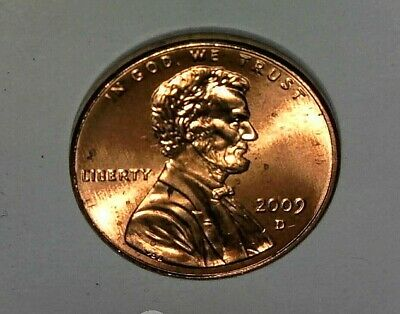 2009 D Lincoln Presidency Penny 1c Bicentennial Uncirculated Cent from Unc. Roll