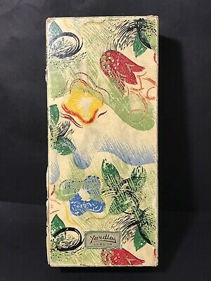 Vintage YARDLEY OF LONDON Soap / Make Up Cardboard Box Floral Pattern
