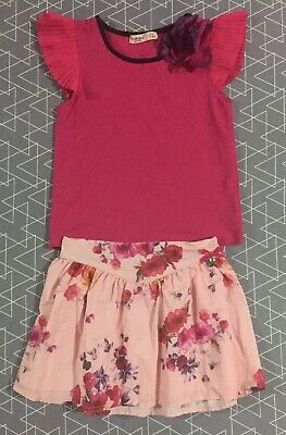 Fredhbaked Girls Outfit Top & Skirt Size 4