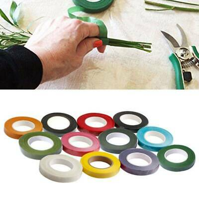 Florist Stem Tape - Wire Floral Work - Buttonholes Floristry Craft Green