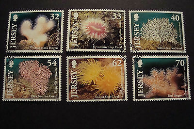 GB Jersey 2004 Commemorative Stamps~Corals~Very Fine Used Set~UK Seller